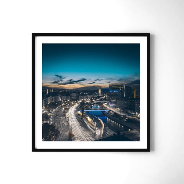 Rush Hour - Art Prints by Post Collective - 2