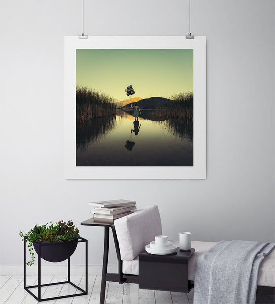 Secrets Of The Lake - Art Prints by Post Collective - 3