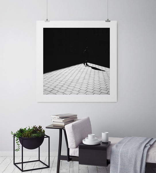 Shadows Don't Care - Art Prints by Post Collective - 3