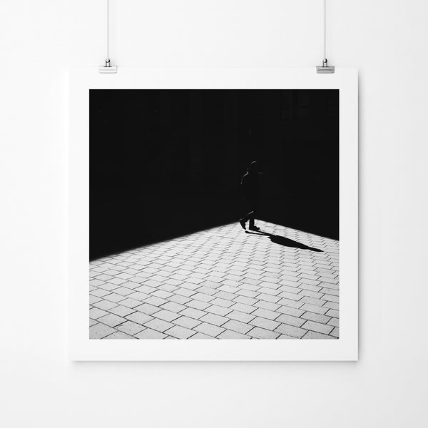 Shadows Don't Care - Art Prints by Post Collective - 2