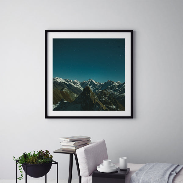 Shimmering Peaks - Art Prints by Post Collective - 5