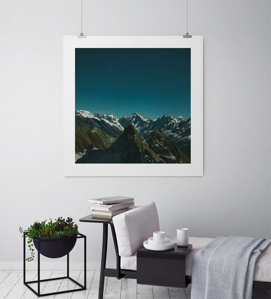 Shimmering Peaks - Art Prints by Post Collective - 3