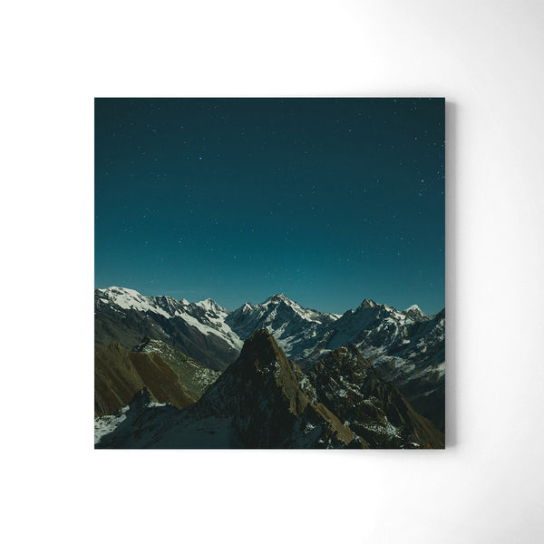 Shimmering Peaks - Art Prints by Post Collective - 2