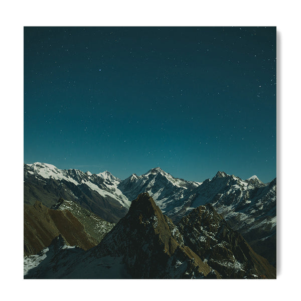 Shimmering Peaks - Art Prints by Post Collective - 1