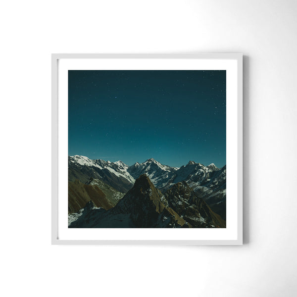 Shimmering Peaks - Art Prints by Post Collective - 4