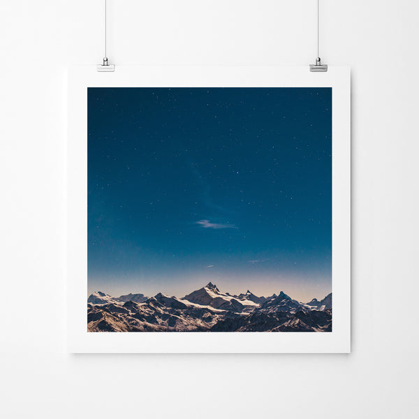 Silence II - Art Prints by Post Collective - 2