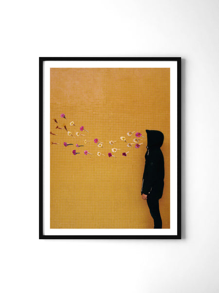 Smoking Flowers - Art Prints by Post Collective - 2