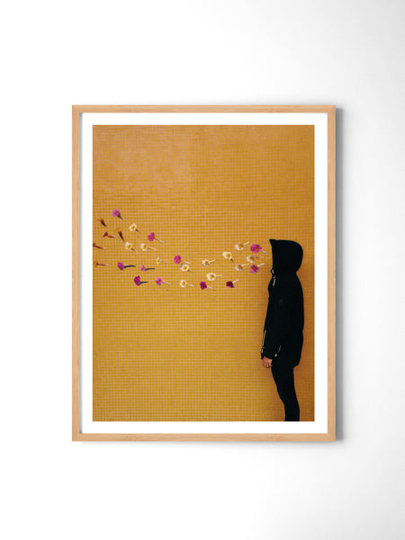 Smoking Flowers - Art Prints by Post Collective - 3
