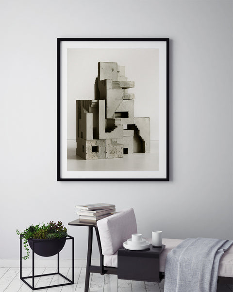 Soma Structure 01 - Art Prints by Post Collective - 5
