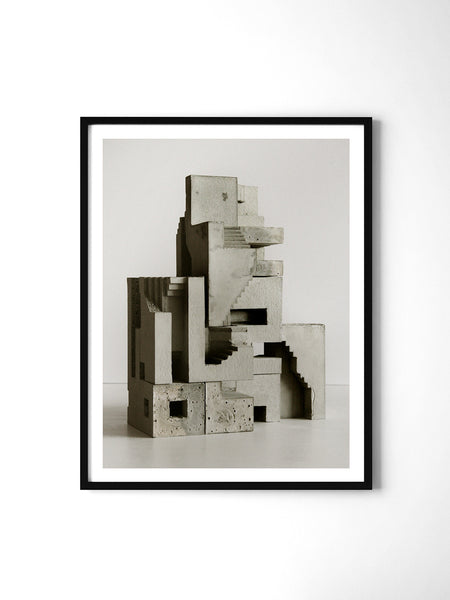 Soma Structure 01 - Art Prints by Post Collective - 2