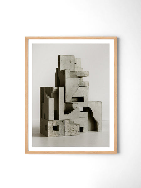 Soma Structure 01 - Art Prints by Post Collective - 3
