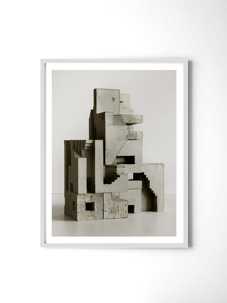 Soma Structure 01 - Art Prints by Post Collective - 4