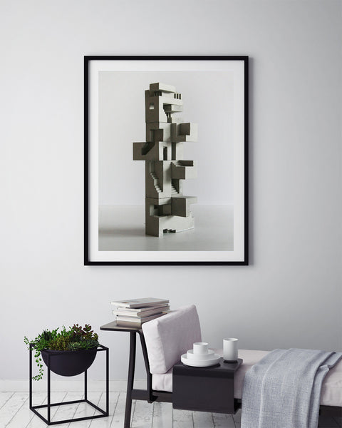 Soma Structure 03 - Art Prints by Post Collective - 5