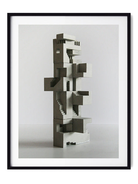 Soma Structure 03 - Art Prints by Post Collective - 1