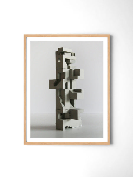 Soma Structure 03 - Art Prints by Post Collective - 3