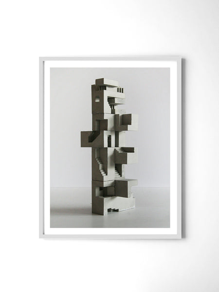 Soma Structure 03 - Art Prints by Post Collective - 4