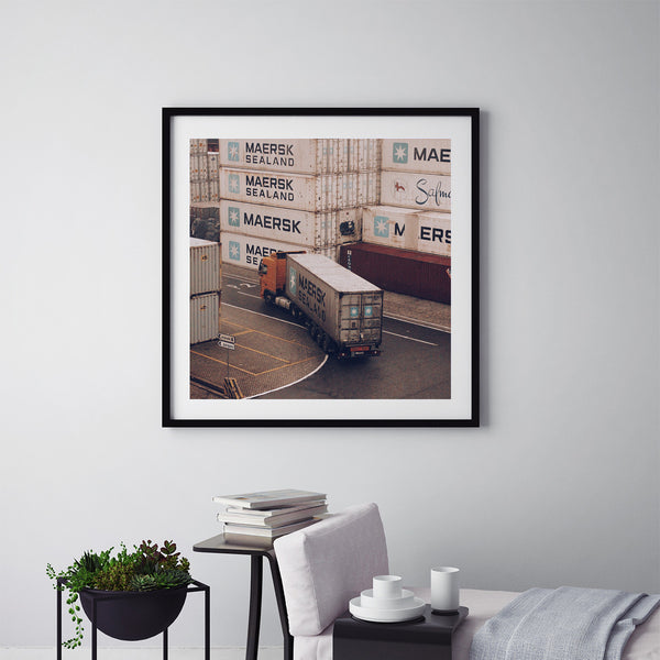 South Dock Routine - Art Prints by Post Collective - 5