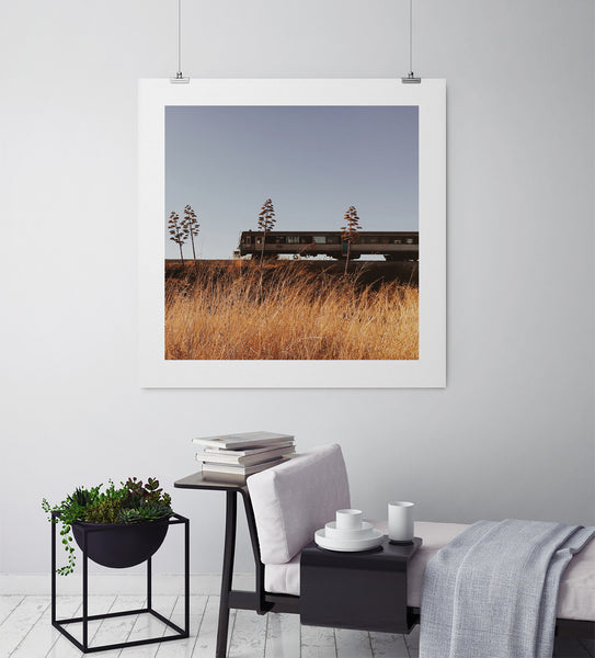 South Coast Railroad Line - Art Prints by Post Collective - 3
