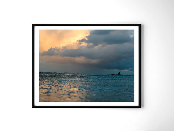 Storm Surfer - Art Prints by Post Collective - 2