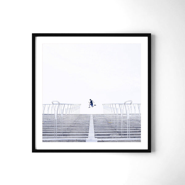 Summer Jump - Art Prints by Post Collective - 2