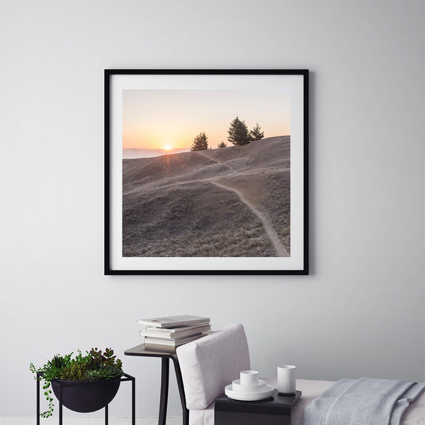 Sunset at Mt. Tamalpais - Art Prints by Post Collective - 5
