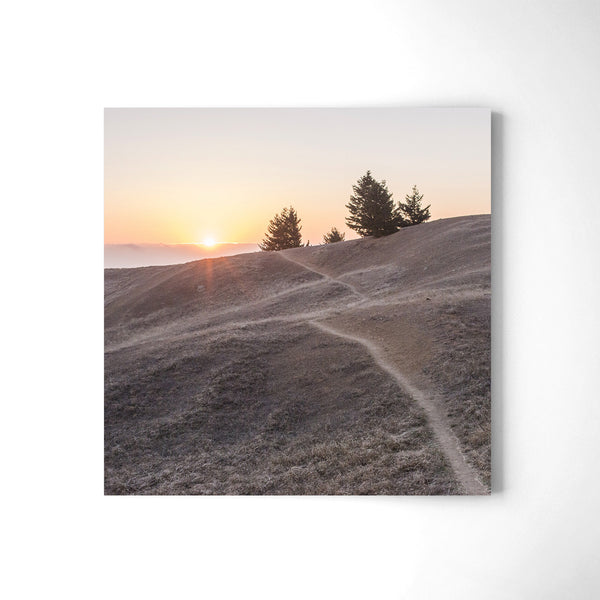 Sunset at Mt. Tamalpais - Art Prints by Post Collective - 2