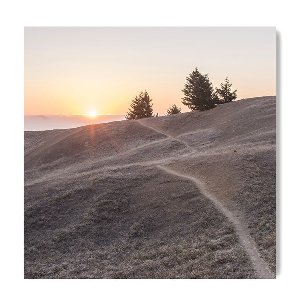 Sunset at Mt. Tamalpais - Art Prints by Post Collective - 1