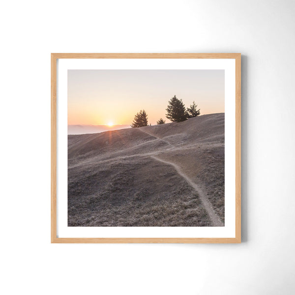 Sunset at Mt. Tamalpais - Art Prints by Post Collective - 3