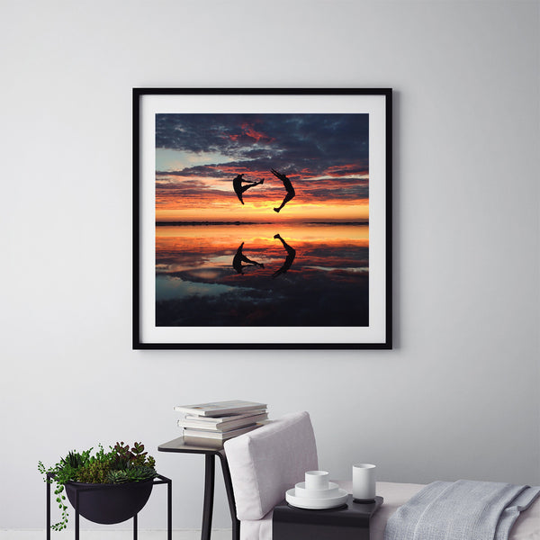 Sunset Of The Season - Art Prints by Post Collective - 5