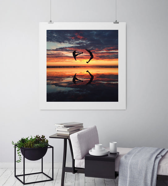 Sunset Of The Season - Art Prints by Post Collective - 3