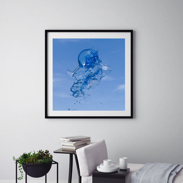 Super Blue - Art Prints by Post Collective - 5