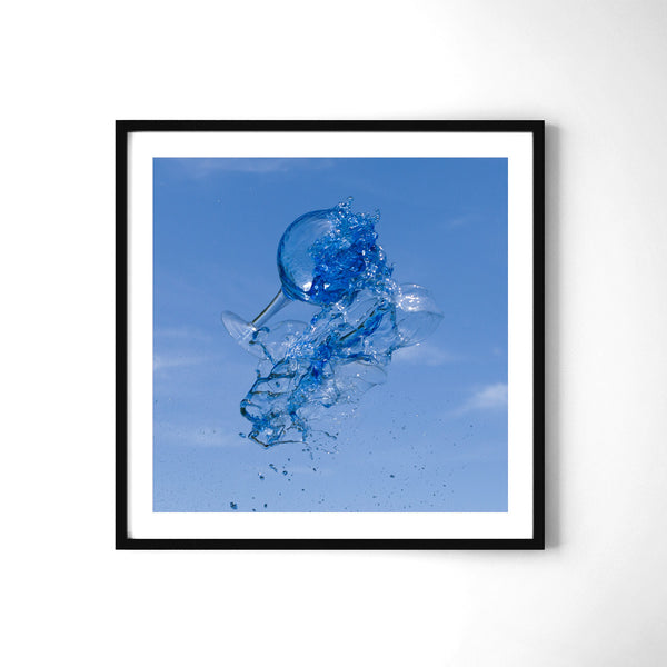 Super Blue - Art Prints by Post Collective - 2