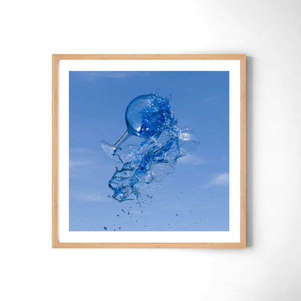 Super Blue - Art Prints by Post Collective - 3
