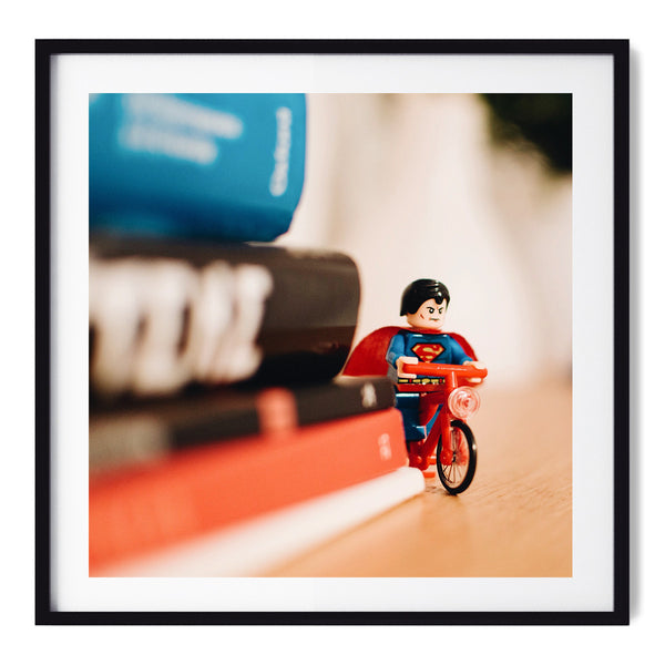 Superman Ride - Art Prints by Post Collective - 1