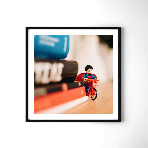 Superman Ride - Art Prints by Post Collective - 2