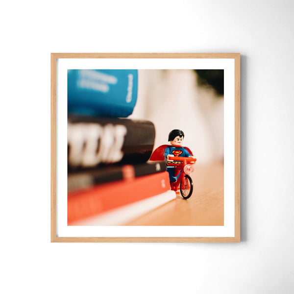 Superman Ride - Art Prints by Post Collective - 3