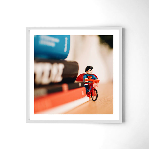 Superman Ride - Art Prints by Post Collective - 4