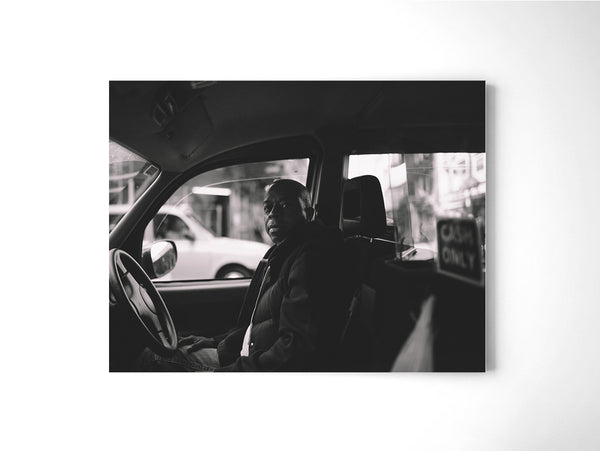 Taxi - Art Prints by Post Collective - 2