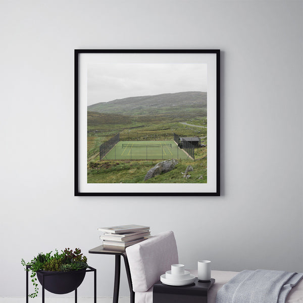 Tennis In Harris - Art Prints by Post Collective - 5