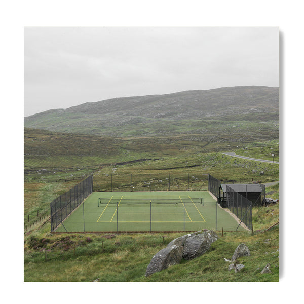 Tennis In Harris - Art Prints by Post Collective - 1