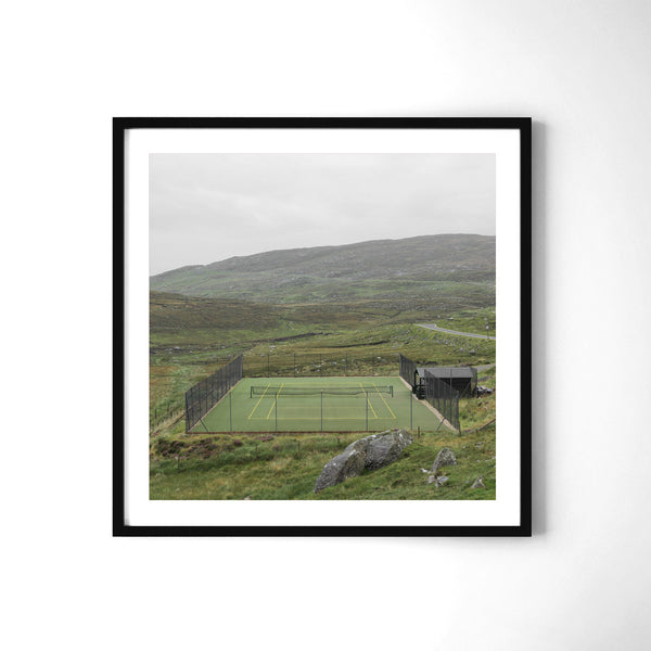 Tennis In Harris - Art Prints by Post Collective - 2