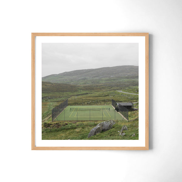 Tennis In Harris - Art Prints by Post Collective - 3