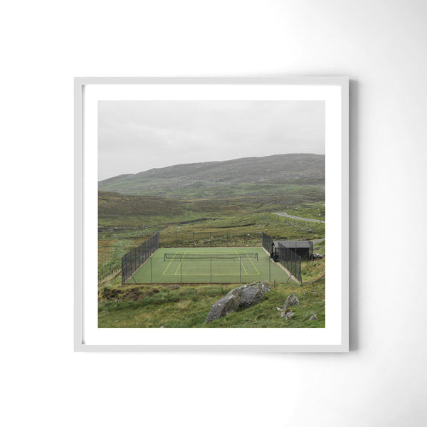 Tennis In Harris - Art Prints by Post Collective - 4