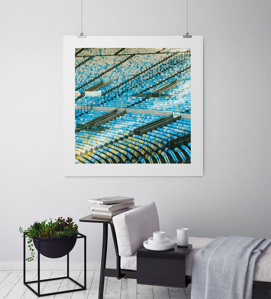 The Curve Of Maracana - Art Prints by Post Collective - 3