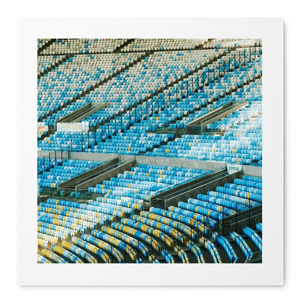 The Curve Of Maracana - Art Prints by Post Collective - 1