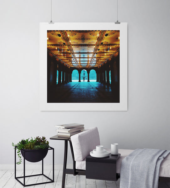 The Heart of Central Park - Art Prints by Post Collective - 3