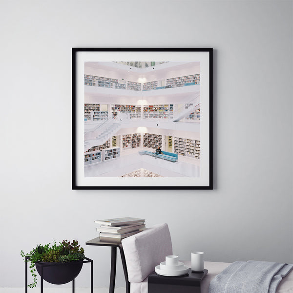 The Library - Art Prints by Post Collective - 5