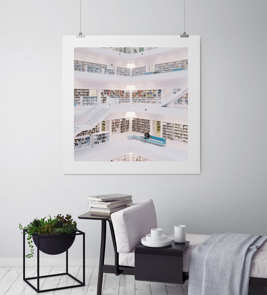 The Library - Art Prints by Post Collective - 3