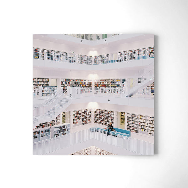 The Library - Art Prints by Post Collective - 2