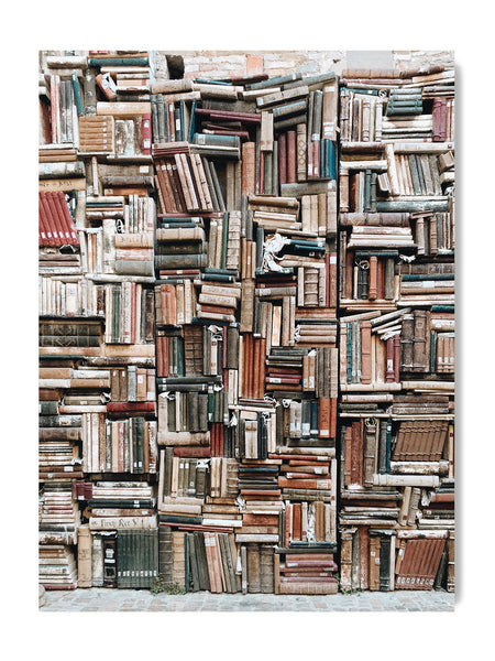 The Library II - Art Prints by Post Collective - 1
